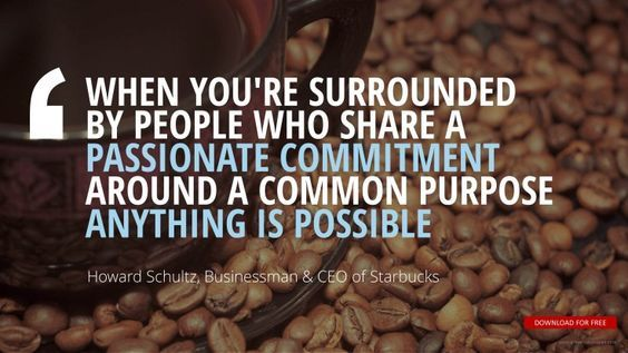 Howard Schultz, Businessman & CEO of Starbucks