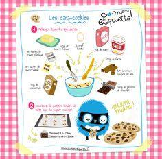 Cookies au carambar et au chocolat