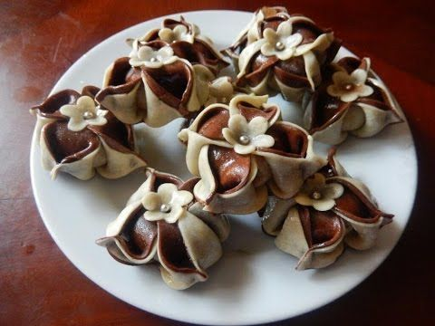 Samira TV: طريقة تحضير أروع حلوى القرنفلة Halwa Kronfela - YouTube