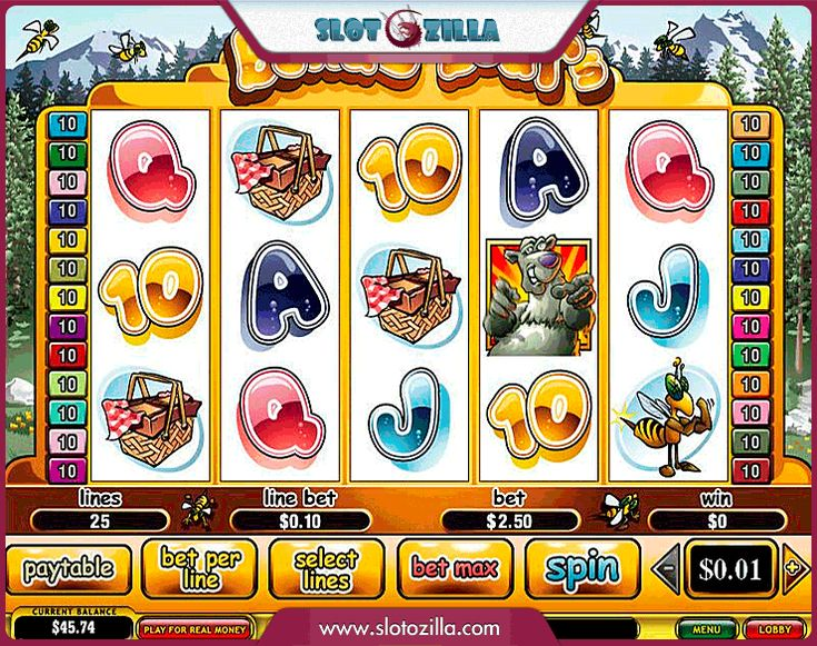 Bonus Bears free #slot_machine #game presented by www.Slotozilla.com - World's biggest source of #free_slots where you can play slots for fun, free of charge, instantly online (no download or registration required) . So, spin some reels at Slotozilla! Bonus Bears slots direct link: http://www.slotozilla.com/free-slots/bonus-bears