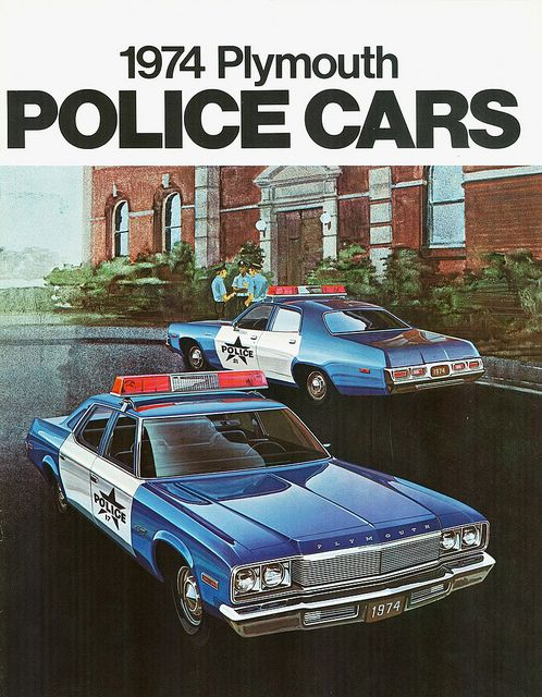 1974 Plymouth Police Cars