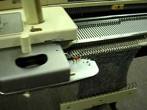 Testing a Studio Knitting Machine for Needle Selection by Carole Wurst - YouTube