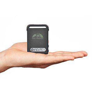 Incutex Traceur GPS TK104 / émetteur de goniométrie / émetteur GPS / GSM / GPRS géolocalisation, protège personnes, localisation de…