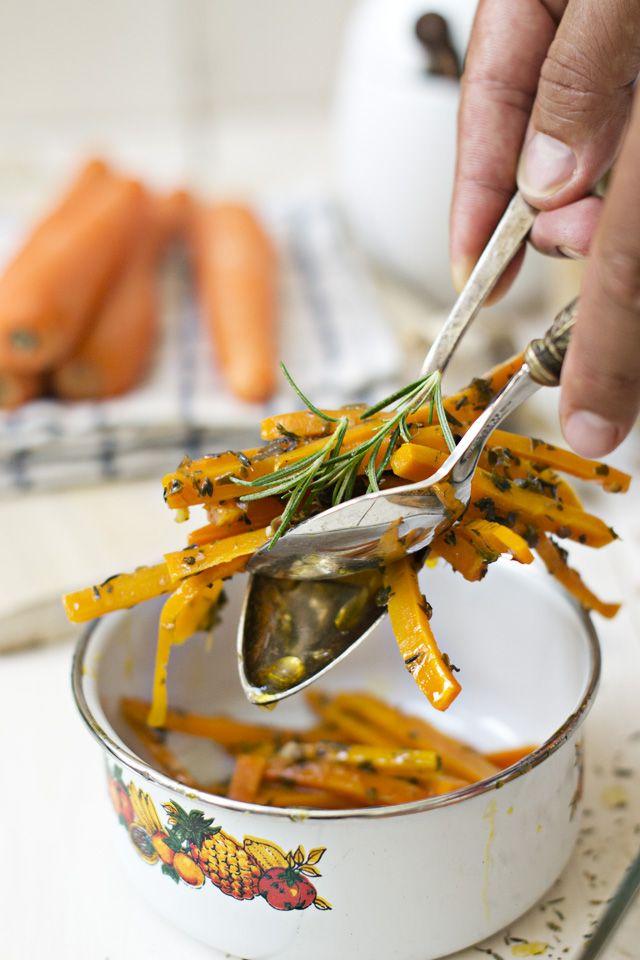 Zanahorias a la griega