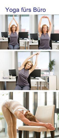 Ber ideen zu b ro training auf pinterest denise for Schreibtisch yoga