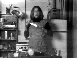 Martha Rosler, Semiotics of the Kitchen  1975, 6:33 min, b&w, sound
