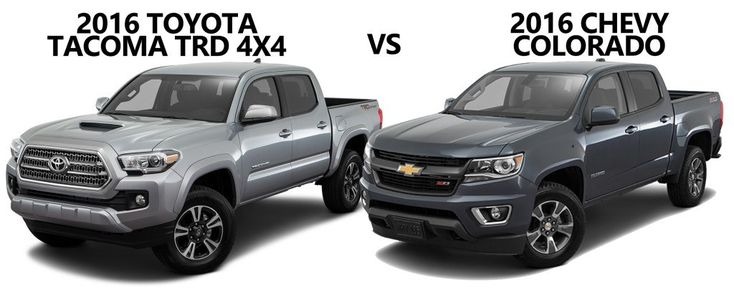 Chevy Colorado Vs Toyota Tacoma - http://carenara.com/chevy-colorado-vs-toyota-tacoma-5054.html 2017 Toyota Tacoma Vs. 2017 Chevy Colorado - Youtube inside Chevy Colorado Vs Toyota Tacoma 2016 Toyota Tacoma Trd Vs. 2015 Chevrolet Colorado - Limbaugh in Chevy Colorado Vs Toyota Tacoma 2016 Chevrolet Colorado Vs 2016 Toyota Tacoma - Youtube throughout Chevy Colorado Vs Toyota Tacoma Chevrolet Colorado Vs. Toyota Tacoma - Which Is Best? | Autobytel within Chevy Colorado Vs Toyot