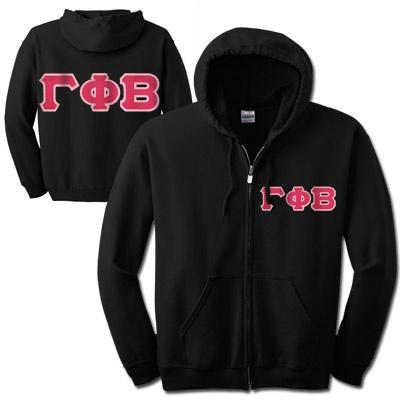 Gamma Phi Beta Full-Zip Hooded Sweatshirt $37.95