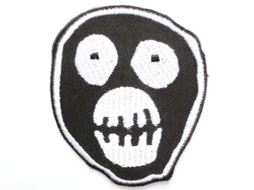 The Mighty Boosh Mask Logo Iron On Sew On Embroidered