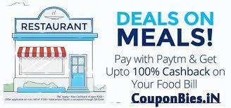 Restaurants PayTm Wallet