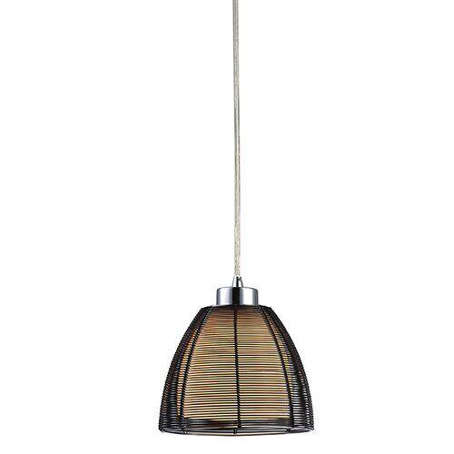 Mateer 1 Light Single Pendant Brayden Studio Shade Colour Black