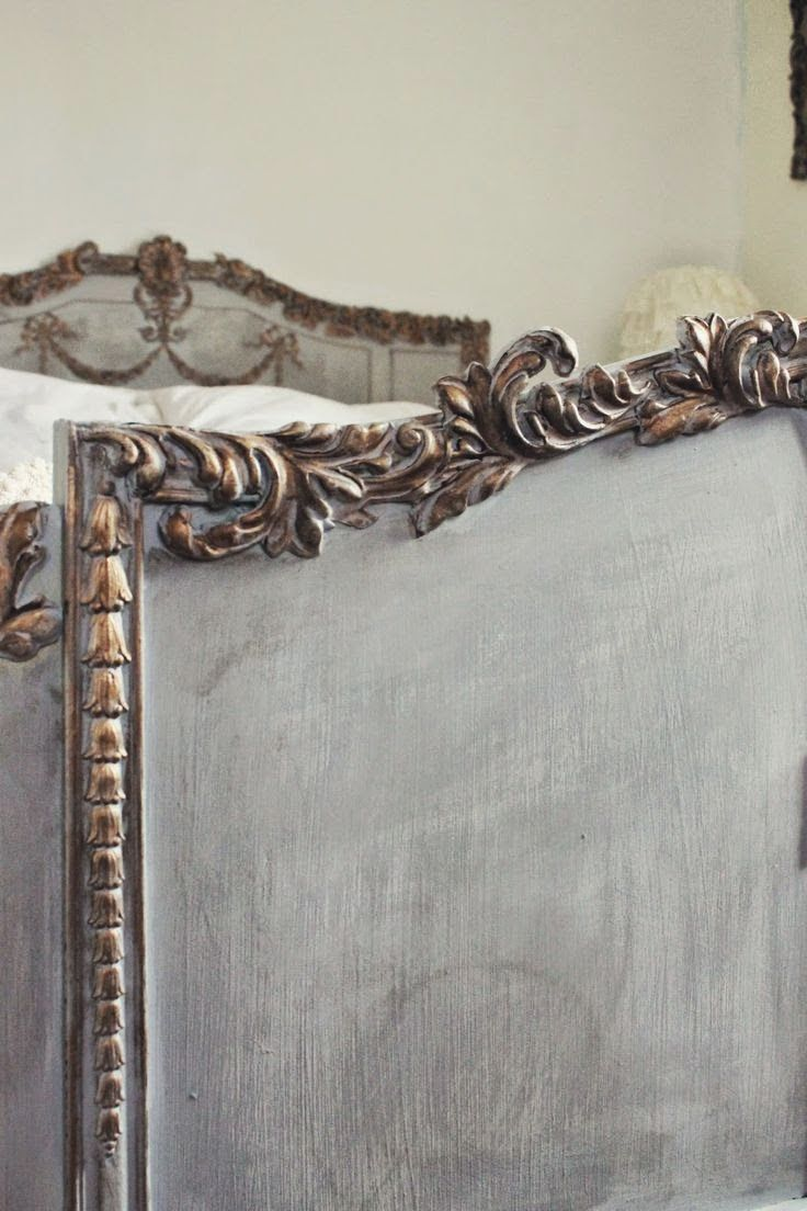 Lots of lovely carvings. You could add similar drops and swags to a plain head board or foot board to get this style of bed. See our carved wooden onlays at www.buycarvings.co.uk