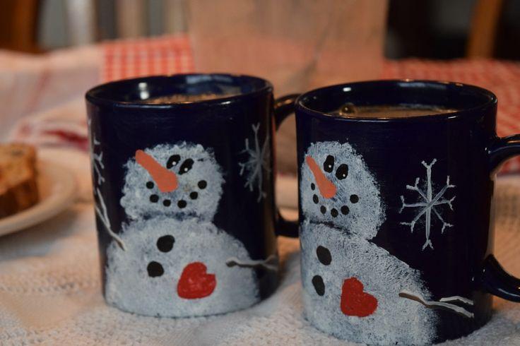 Snowman mug drinks pinterest hot chocolate mix chocolate mix
