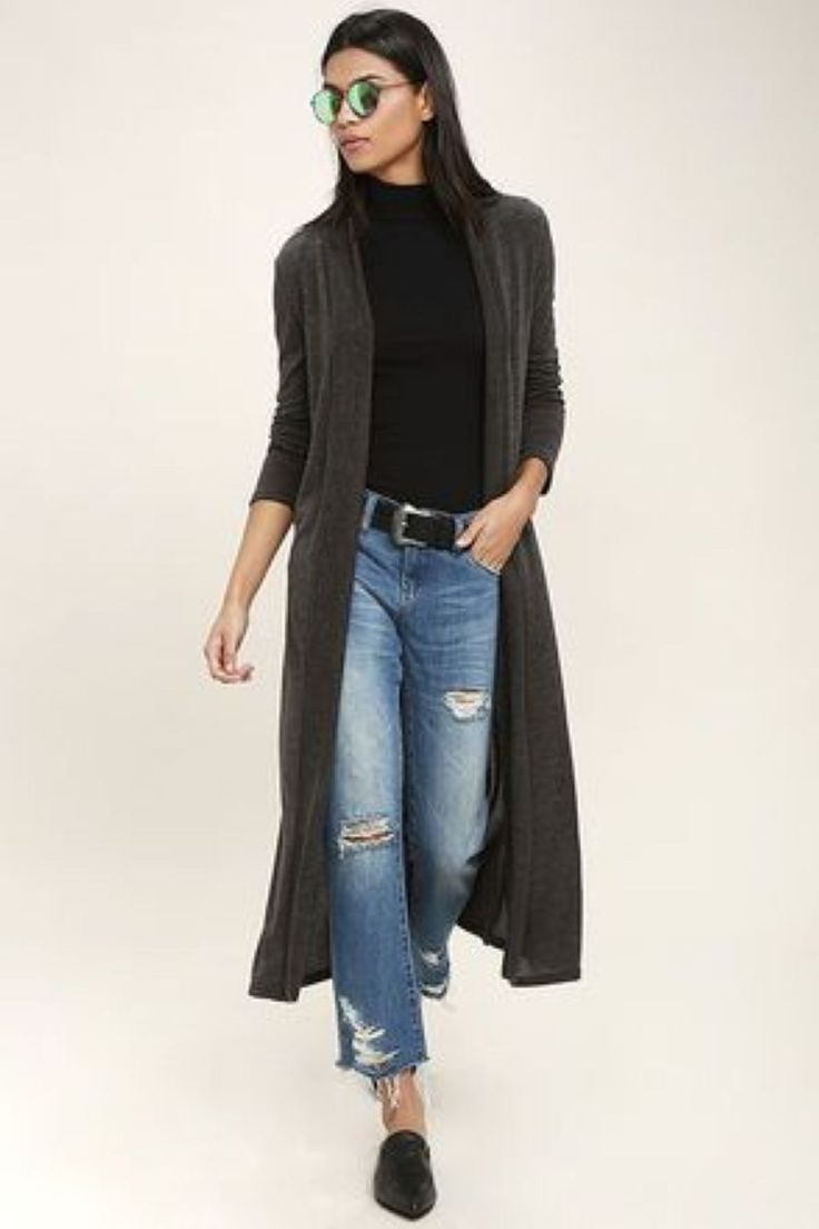 Good Selection Fall Outfits With Long Cardigan 37