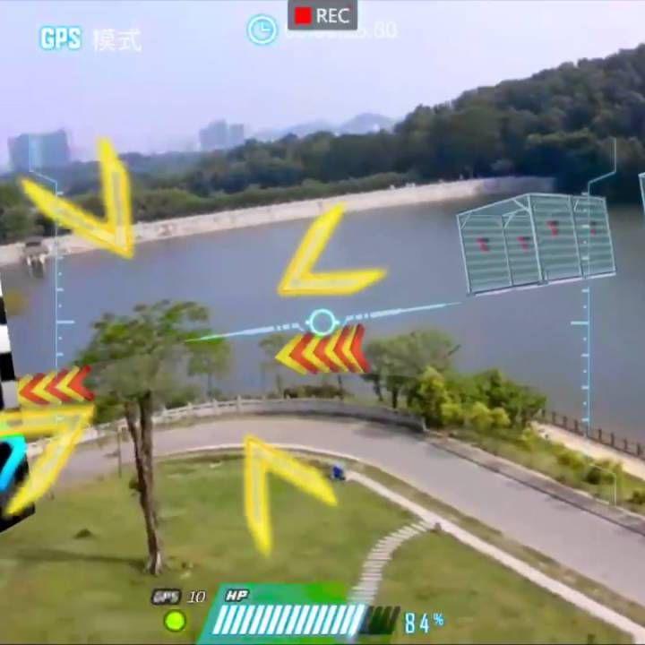 Walkera Aibao Games Racing Drone With 2.4G 4CH WIFI FPV 4K HD Camera APP Virtual RC Quadcopter RTF
