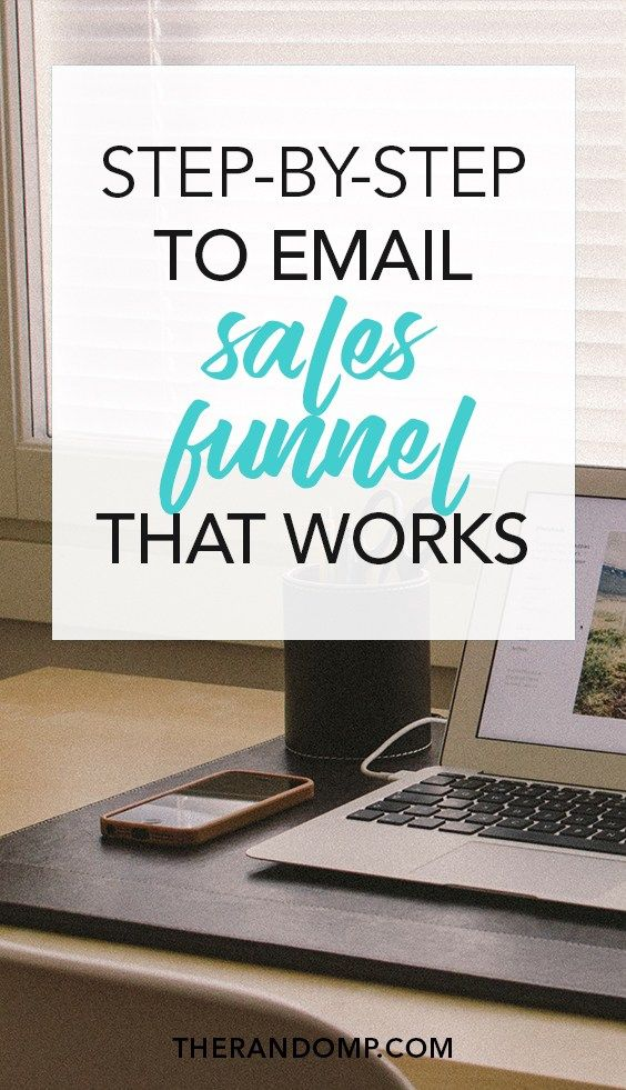 Learn to build email sales funnel that works! A step-by-step guide to email sales funnel for creative business: https://www.therandomp.com/blog/sales-funnel/ Learn to make more sales and grow your mailing list!