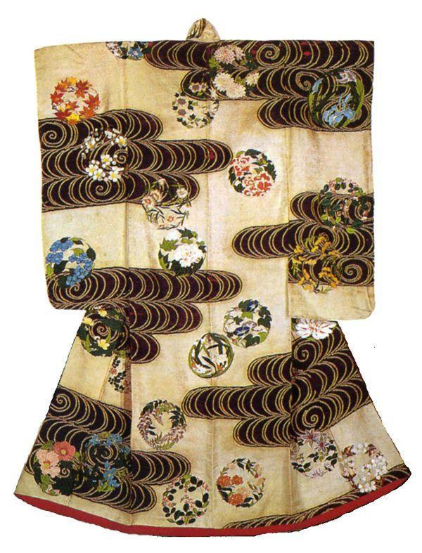 Japan, silk ushikake