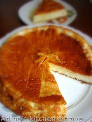 Prajitura turceasca cu iaurt si sirop de citrice