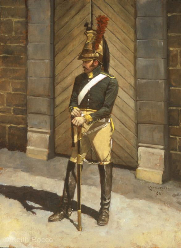 French Trooper, 23rd Dragoons 1813