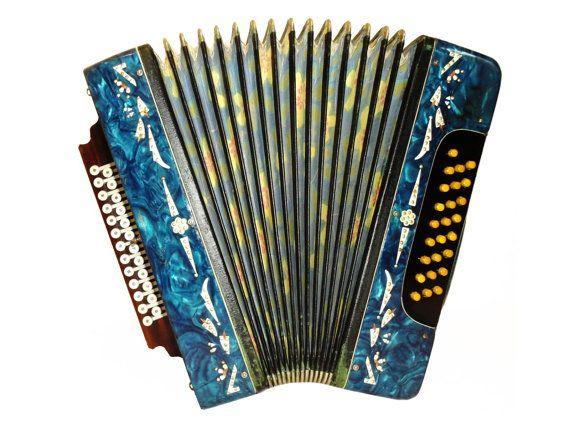 Russian Garmon, 25 x 25, Harmonika Button Bayan, Accordion Instrument, 508