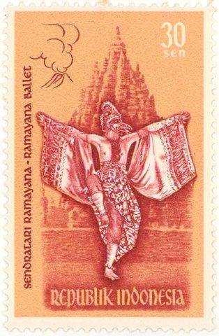 Indonesia - Ramayana ballet dancer