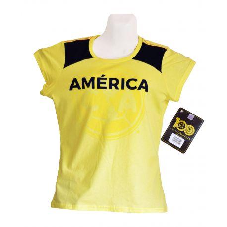 Blusa Tipo Polo  de Fútbol  del Equipo América