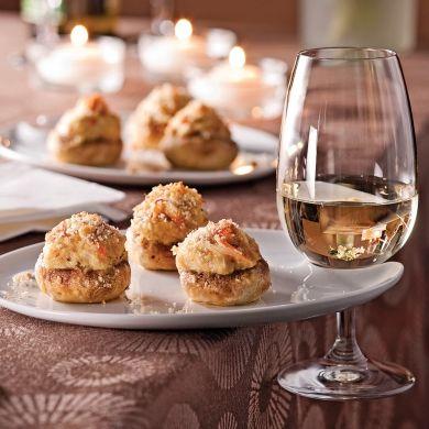 Champignons farcis au crabe - Recettes - Cuisine et nutrition - Pratico Pratique