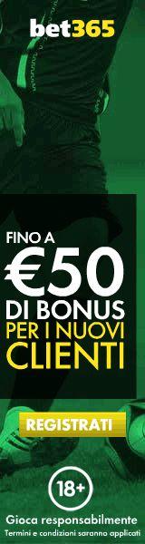 Calcio risultati in diretta. scommessa sportive bonus 50 EUR