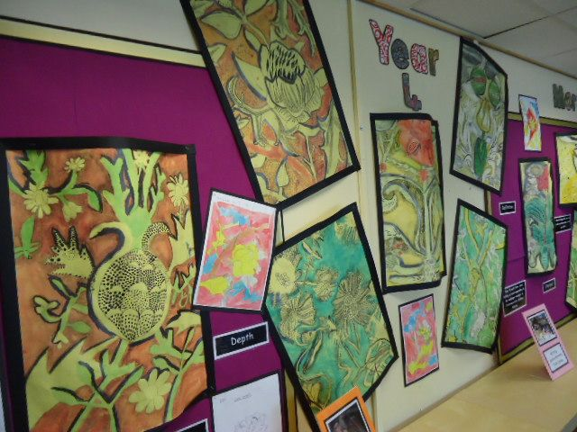 Year 4 William Morris Drawing Project