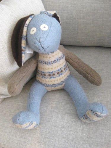 Handmade Stuffed Bunny