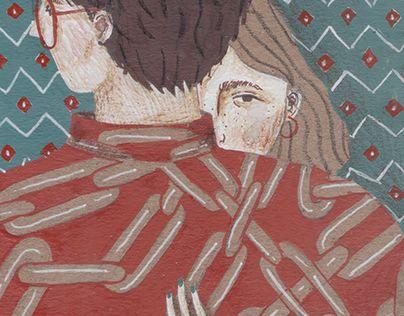 "Check out new work on my @Behance portfolio: ""hug"" http://be.net/gallery/54169385/hug"