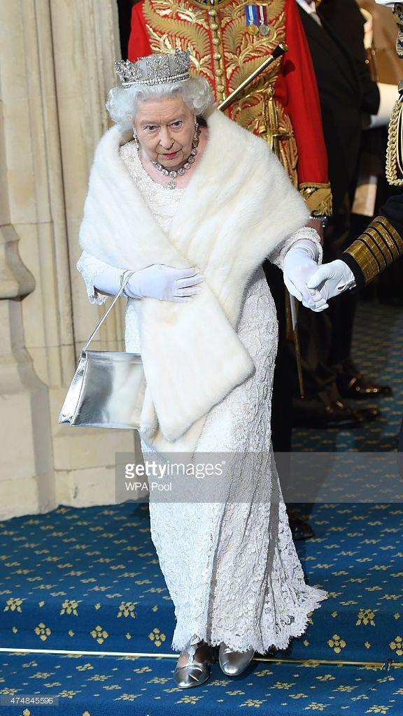 27 May 2015 Britain's Queen Elizabeth II, by