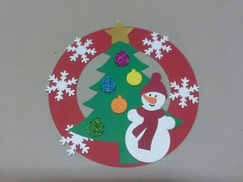 winter-wreath-craft-idea – Crafts and Worksheets for Preschool,Toddler and Kindergarten