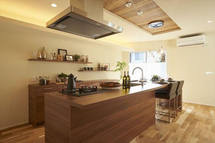納入事例一覧 | 園山2丁目モデルについて。実際にグラフテクトのキッチン・家具を納入工した事例をご紹介しております。新築・リフォームなどでご検討の際、ぜひご参照ください。