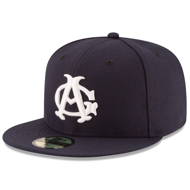 American Giants New Era Turn Back The Clock 59FIFTY Fitted Hat - Navy