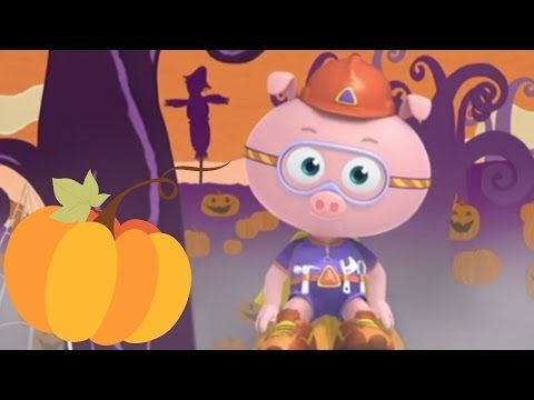 Super Why Full Episodes - The Ghost Who Was Afraid of Halloween 🎃 S01E35 (HD) - YouTube