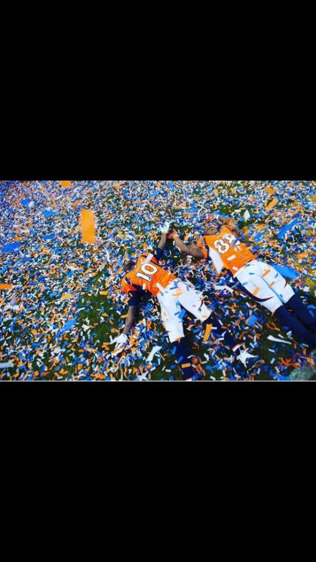 Denver Broncos Going to Super Bowl 50!