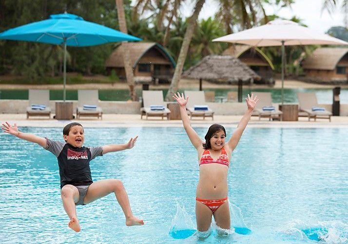 Family fun at its best at Holiday Inn Resort Vanuatu...!  #vanuatu #familyholiday #hoildayinnresort