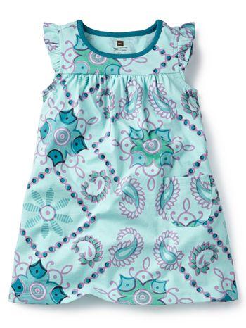 Tea Collection Bandana Mighty Mini Dress available at www.tinysoles.com! #TinySoles