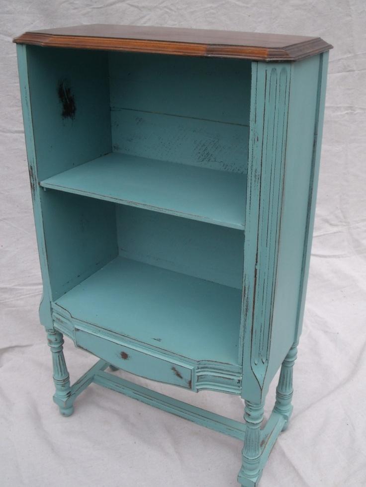 old radio cabinet