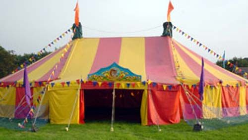 Writers for hire tents