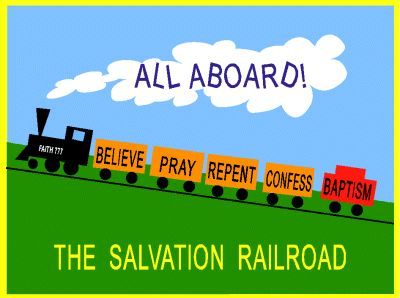 Salvation Railroad what a super idea for any Sunday school teacher or EVERY Mom to make!