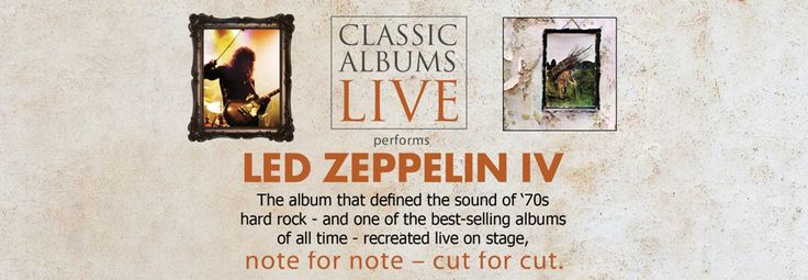 Classic Albums Live: Led Zeppelin IV (Capitol Theatre)   Led Zeppelin IV was a commercial and critical success, featuring many of the band's best-known songs, including Black Dog, Rock and Roll, Going to California and Stairway to Heaven. The album is one of the best-selling albums of all time.