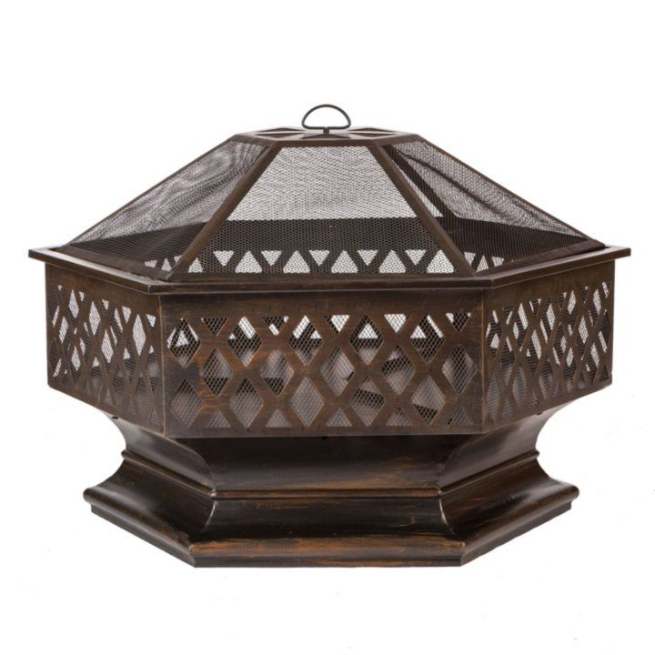 Sam's Club - Ventura Hexagon Wood Burning Fire Pit - I like this one!