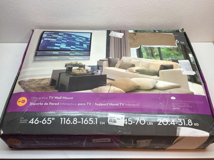 OmniMount LIFT70 Height Adjustable Tilt Interactive TV Wall Mount 46-65 Inch TVs #OmniMount