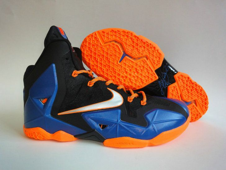 Nike LeBron 11 Super Hero Blackened Blue Pure Platinum  5d844bfd1