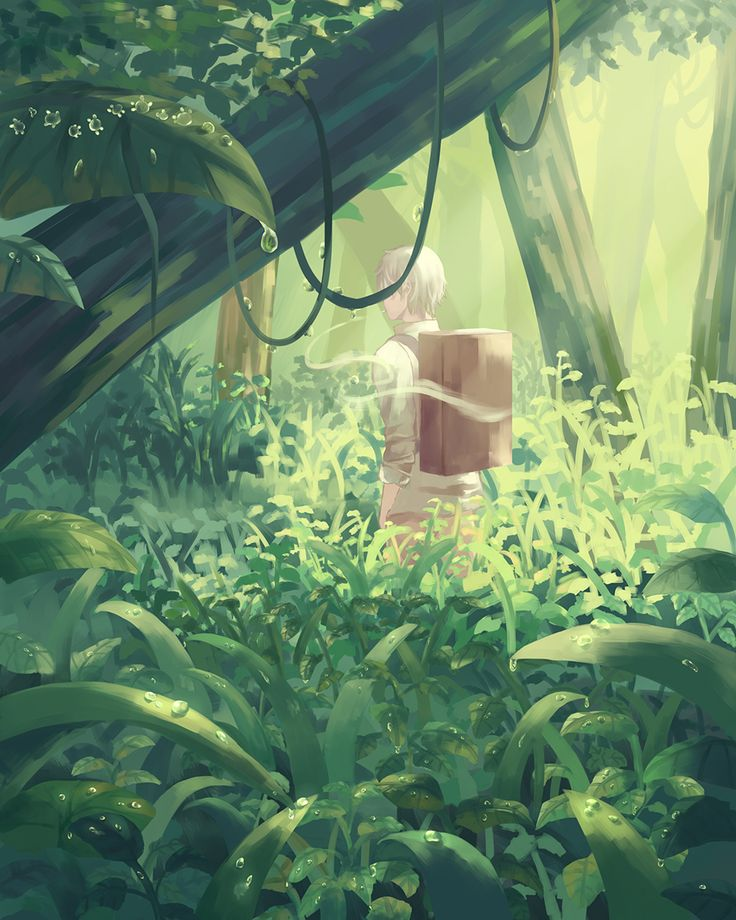Mushishi | Artland | Yuki Urushibara / Ginko / 「雨上がり」/「スバル」のイラスト [pixiv]