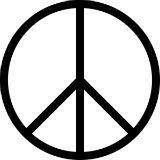 A Cruz-pé-de-galinha, ou Cruz de Nero, é o símbolo internacional da paz. Essa cruz de cabeça para baixo é considerada um símbolo satânico para alguns, na medida que pode reproduzir os braços de Cristo quebrados e caídos. Nesse sentido, é uma representação da paz sem Cristo.    Paz e Amor  O pé-de-galinha é, ainda, um símbolo de paz e amor que foi utilizado pelos hippies, cujo lema é justamente paz e amor.  Isso porque o símbolo foi criado para a Campanha de Desarmamento em 1958 (pouco antes…