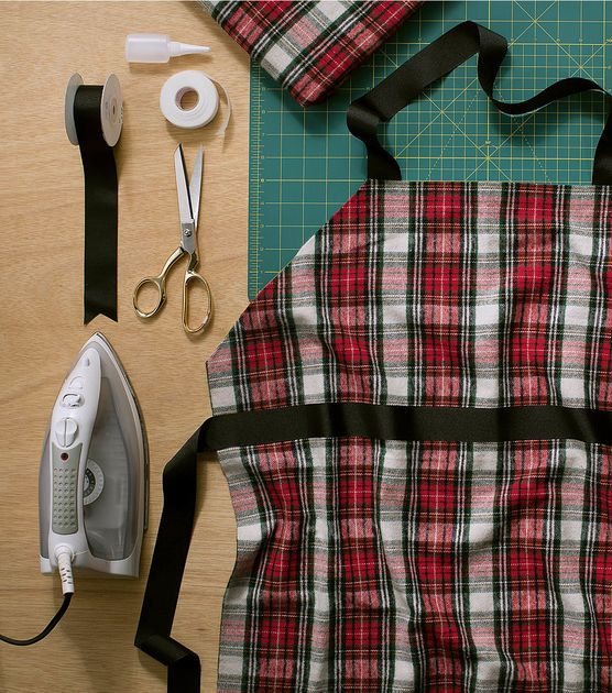 How to Make a No-Sew Apron
