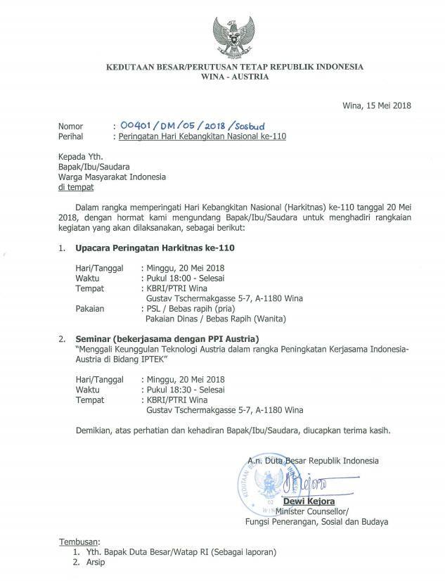 Contoh Surat Resmi Dinas Pdf Pendidikan Dasar Pendidikan Belajar